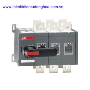 Bộ chuyển đổi nguồn điện 3P loại ABB OT 160…3200A