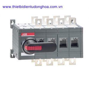 Bộ chuyển đổi nguồn điện 4P loại ABB OT 160…3200A