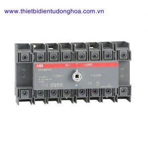 Bộ chuyển đổi nguồn điện 4P loại ABB OT 16…125A