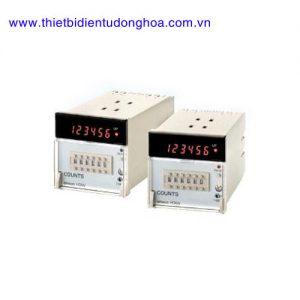 Bộ đếm Counter Omron H7AN phím cơ size 72x72