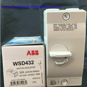 Cầu dao cách ly chống nước ABB 2P, 32A WSD432