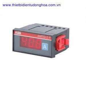 Đồng hồ đo kĩ thuật số loại gắn trên mặt tủ điện ABB AMTD-1 P, 5…600A