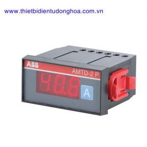 Đồng hồ đo kĩ thuật số loại gắn trên mặt tủ điện ABB AMTD-2 P, 5…600A