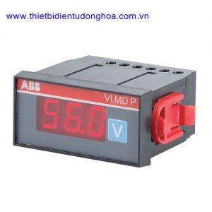 Đồng hồ đo kĩ thuật số loại gắn trên mặt tủ điện ABB VLMDP, 300V, 500V