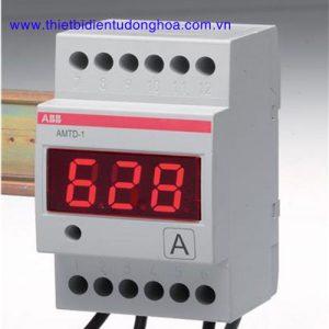 Đồng hồ đo kĩ thuật số loại gắn trênh thanh Din ABB AMTD-2, 5…600A