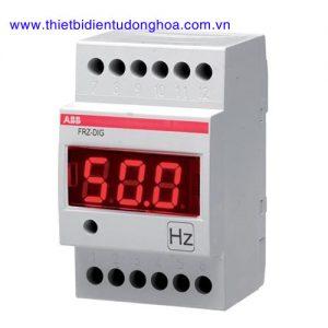 Đồng hồ đo kĩ thuật số loại gắn trênh thanh Din ABB FRZ-DIG, 35…400Hz