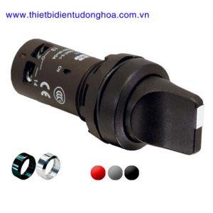Nút nhấn đèn báo đầu bằng loại khối ABB C3SS1