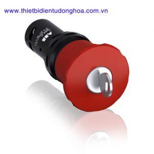 Nút nhấn đèn báo đầu bằng loại khối ABB CE4K