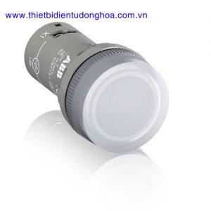 Nút nhấn đèn báo đầu bằng loại khối ABB CL2-502C