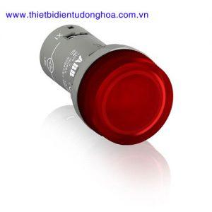 Nút nhấn đèn báo đầu bằng loại khối ABB CL2-502R