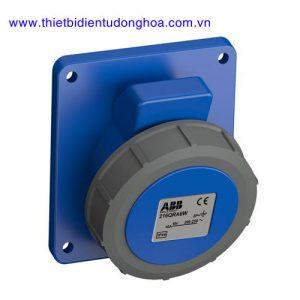 Ổ cắm gắn âm dạng nghiêng ABB 2P+E, IP67
