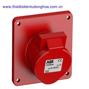 Ổ cắm gắn âm dạng nghiêng ABB 3P+E, IP44