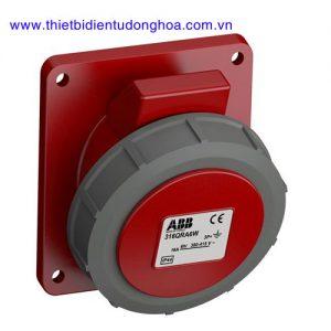Ổ cắm gắn âm dạng nghiêng ABB 3P+E, IP67
