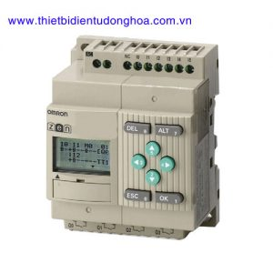 Rơ le lập trình Omron ZEN-10C1DR-D-V2 loại 6 ngỏ vào 4 ngỏ ra, nguồn DC, mở rộng được
