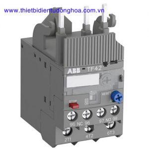 Rơ le nhiệt dùng cho công tắc tơ dạng khối loại tiêu chuẩn ABB TF42