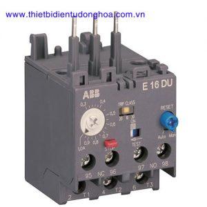 Rơ le nhiệt dùng cho công tắc tơ loại AX ABB E16DU