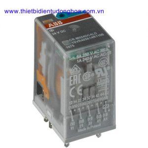 Rơ le trung gian ABB loại CR-M, 4CO, 6A, không đèn