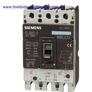 VL160/ 3VL2 CB khối MCCB Siemens